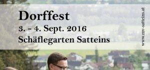 Dorffest des MV-Satteins