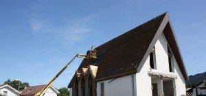Abbruch der Neuapostolischen Kapelle an der Dr.-Huber-Straße in Lochau