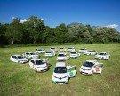 Vorarlbergs größte private Elektroauto-Flotte in Betrieb genommen