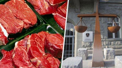 Dornbirn: Nachtportier stiehlt 200 Kilogramm Fleisch aus Hotel