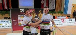 Weltmeister gewann das Duell gegen Vize