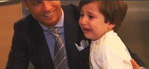 Emotionale Momente: Wenn Kinder ihre Fußball-Stars treffen