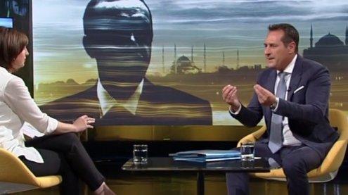 """HC Strache zu Burkaverbot: Kurz' Kehrtwende """"aus nackter Panik"""""""