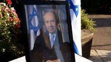 Abschied von Shimon Peres: Sarg aufgebahrt