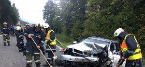 Vorarlberg: Schwerer Verkehrsunfall in Doren