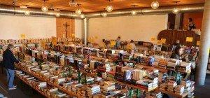 Bücherflohmarkt der Superlative