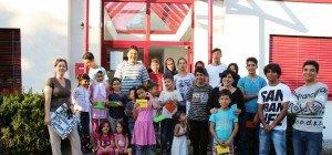 Gelungene Spendenaktion für Flüchtlinge