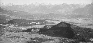 Damals-Heute: Der Udelberg ohne Durchstich