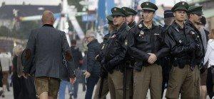 Münchener Polizei begeistert mit #wiesnwache