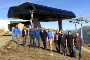 Bau der Silvretta Bahn schreitet voran