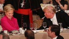 """Clinton ein """"böses Weib"""" - Trump erntet Buh-Rufe"""