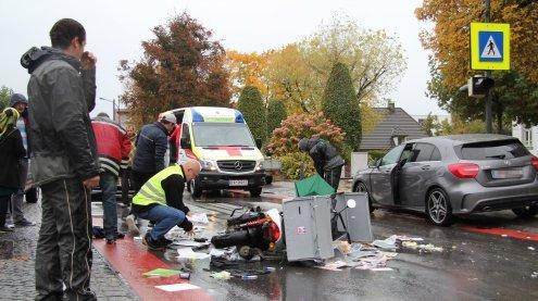 Verletzte Pensionistin bei Unfall mit Motorrad in Schwarzach