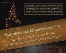 Schnepfauer Christbaumfeier am Samstag 26.11.2016