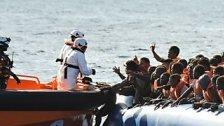 Immer mehr Flüchtende wagen Mittelmeer-Route