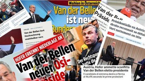 Internationale Reaktionen auf den Wahlsieg Van der Bellens