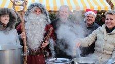 Heiße Suppe im Advent