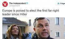 Independent vergleicht Hofer mit Hitler