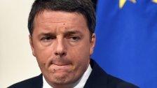 Möglicher Rücktritt von Italiens Matteo Renzi gut?