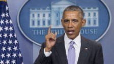 Obama gibt letzte Pressekonferenz
