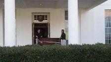 Fünf-Stunden-Blitzumzug im Weißen Haus