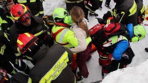 Lawinen-Wunder: 6 Überlebende in Hotel gefunden – Zwei Kinder