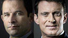 Hamon und Valls liegen bei Vorwahl vorne