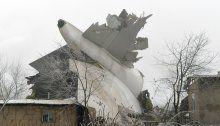Fracht-Jumbo stürzte auf kirgisisches Dorf: 32 Tote