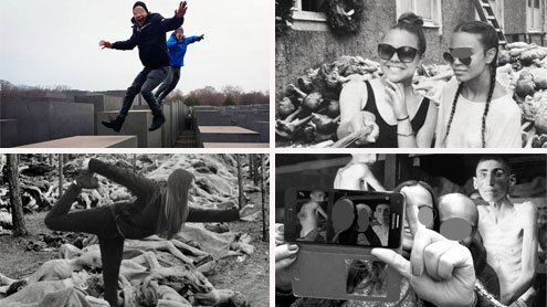 Selfies am Holocaust-Denkmal - Künstler übt entlarvende Kritik