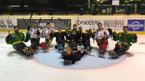 Fabian Burtscher stellt Ländle- Para Ice Hockey Team zusammen