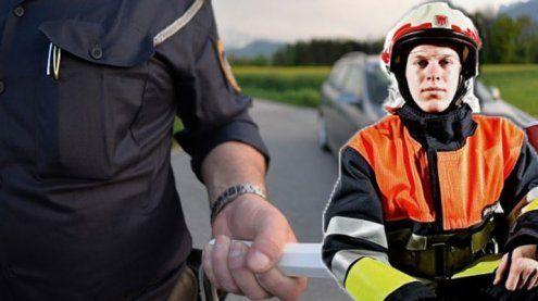 Rasender Feuerwehrmann: Gastronom übernimmt Strafe