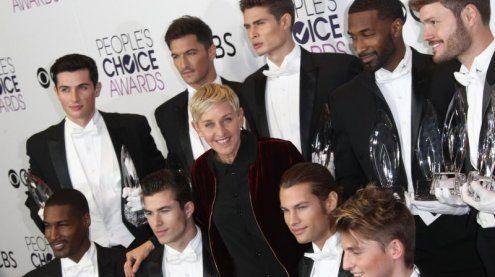 Ellen DeGeneres räumte groß ab