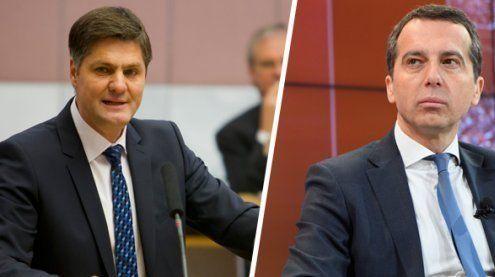 FPÖ-Klubobmann Allgäuer verteidigt Bundeskanzler Kern
