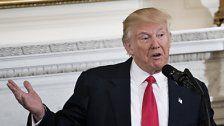 Trump redet erstmals vor dem US-Kongress