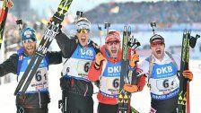 Herren-Staffel holte WM-Bronze in Hochfilzen