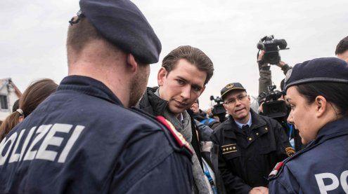 Balkanroute: Schließung hat laut Außenminister Kurz funktioniert