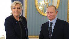 """Le Pen: """"Frankreich kein souveräner Staat mehr"""""""
