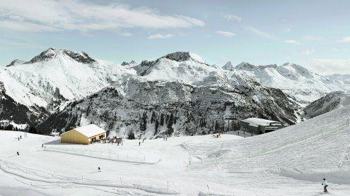 Skihütte am Arlberg