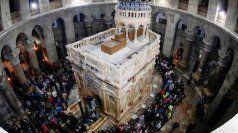 Kapelle über Jesus-Grab neu eingeweiht