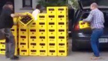 Bier her - so viele Kisten Mohren passen ins Auto