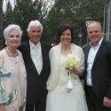 Hochzeit von Gerda D'hondt und Erich Obernosterer