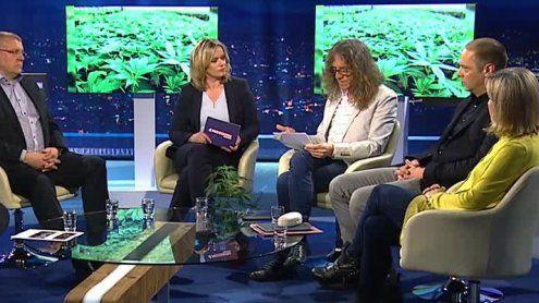 """Bernhard Amann bei """"Pro und Contra""""-Cannabis-Diskussion"""