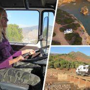 Weltreise im Feuerwehrauto: Schöne Momente, Defekte und klickende Handschellen