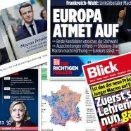 """Internationale Pressestimmen zur Frankreichwahl: """"Eine Ruptur"""""""