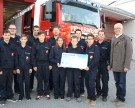 Lochauer Feuerwehrjugend: Spende für bedürftige Mitbürger
