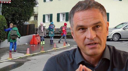 Verkehrslaschen in Bludenz: Für mehr Sicherheit am Schulweg