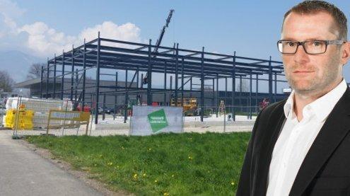 Neuer Firmensitz: Ausbau Bohn investiert 1,3 Millionen Euro
