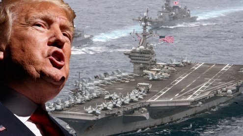 """Militärschlag gegen Nordkorea? Trump: """"Wir werden sehen"""""""