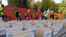 NGOs fordern die Ablehnung von CETA