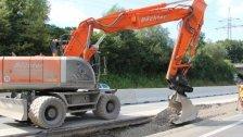 A14: Sanierungsarbeiten bei der Ausfahrt Frastanz