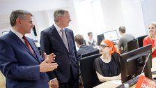 SPÖ-Wahlkampfzentrale in Wien eröffnet
